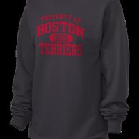 Boston University Terriers Unisex 7.8 oz Lightweight Crewneck Sweatshirt