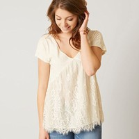 COCO + JAIMESON PIECED TOP