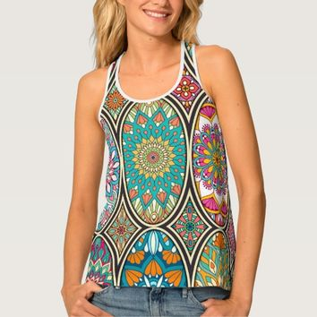 Mandalas Tank Top
