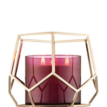 HEXAGON3-Wick Candle Sleeve