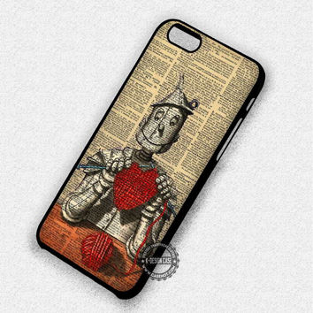 Tin man Wizard of Oz - iPhone 7 6 5 SE Cases & Covers