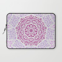 A Glittering Colorful Mandala 2 Laptop Sleeve by Octavia Soldani | Society6