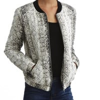 Winter Print Cotton Casual Tops Jacket [6045310657]