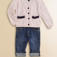 Little Marc Jacobs - Infant's Helga Contrast Trim Cardigan - Saks.com