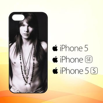 Axl Rose Guns and Roses wallpaper Y0566  iPhone 5|5S|SE Case
