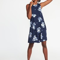 Jersey-Knit Sleeveless Swing Dress for Women | Old Navy