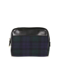 Tartan Make Up Bag - Topshop