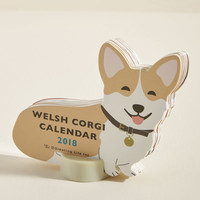 Year of the Critter 2018 Desk Calendar in Corgi