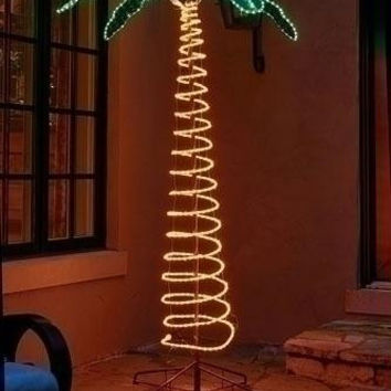 Outdoor Decoration - Holographic Lighted Palm Tree