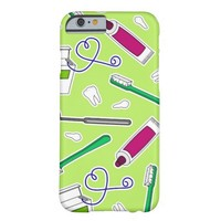 Cute Dentist / Dental Hygienist Love Green Purple