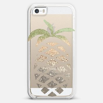 GATSBY PINA COLADA Crystal Clear iPhone case iPhone 5s case by Monika Strigel   Casetagram