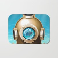 Underwater Bath Mat by Texnotropio