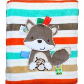 Taggies Baby Boy Fox Stroller Blanket by Taggies