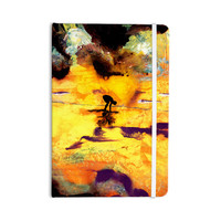 "Josh Serafin ""Pool of Life"" Yellow Abstract Everything Notebook"