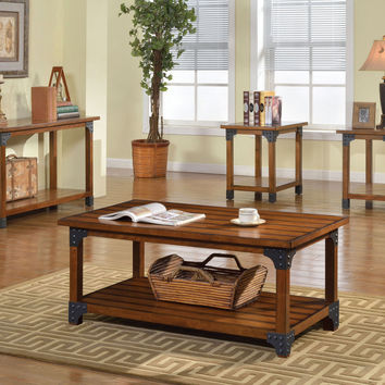 CM4102-3PK Coffee Table with 2 End Tables 3Pc.Set  Bozeman Collection