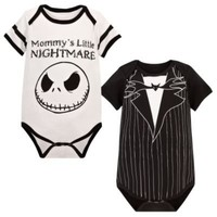 Jack Skellington Bodysuit for Infants -- 2-Pc. | Boys | Halloween | Disney Store
