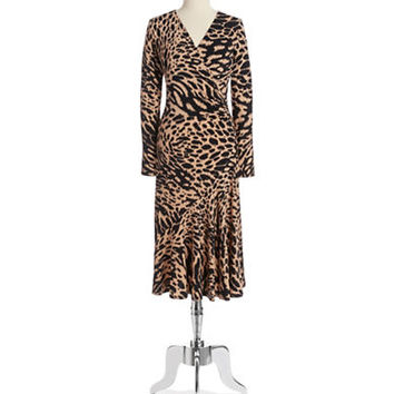 Michael Michael Kors Ikat Wrap Dress