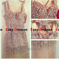 Sexy dress backless dress sequins dress long dress Prom dress Bridesmaid dress Fashion dress Party Evening Dresses 2014