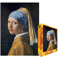 The Girl with a Pearl Earring Jigsaw Puzzle - 1000-Piece
