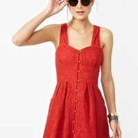 Marjorie Crochet Dress in Clothes Dresses at Nasty Gal