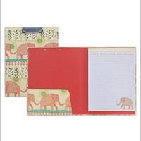 Elephant Padfolio with Clipboard