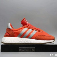 Adidas Iniki Runner Boost Fashion Trending Running Sports Shoes Sneakers Orange I-A0-HXYDXPF