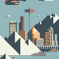 Seattle by Rick Murphy