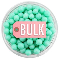 Pearly Mint Green Sugar Pearls BULK