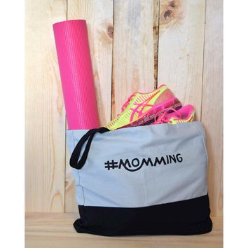 #Momming™ Oversized Tote Canvas
