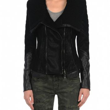 Blank NYC Vegan Leather Jacket - Plan B