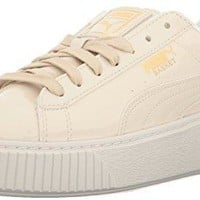 Puma Women's Basket Platform Patent Wn's Field Hockey Shoe
