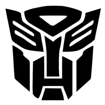 TRANSFORMERS inspired DECAL Great for Cars Ipads by OwlOutfitters