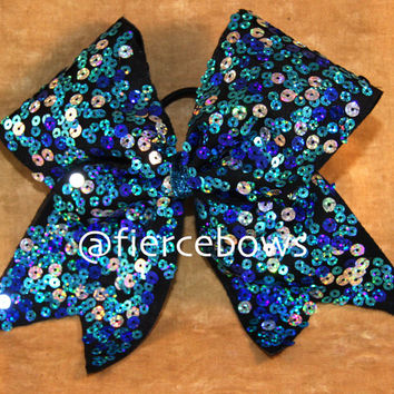 Sequin Cheer Bows