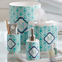 Trellis Twist Bath Accessories