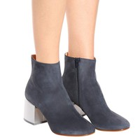 Suede ankle boots