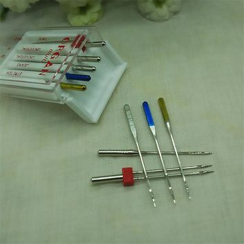 5 Needles Domestic Sewing Machine Needle Set Household Sewing Machine Parts 5 Pcs/bag For Jeans Stretch Universal Use