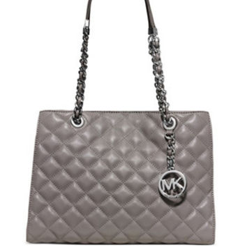 Michael Michael Kors Susannah Medium Quilted Leather Chain Tote
