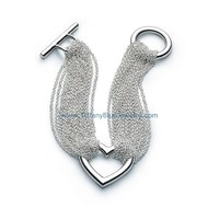 Find The Last Cheap Tiffany & Co Ten Row Chain DISC Toggle Bracelet In Tiffanybluejewelry.com
