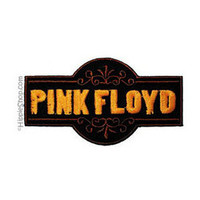 Pink Floyd - Old Time Logo Patch on Sale for $4.99 at The Hippie Shop