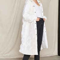 Vintage Puffy White Surplus Jacket - Urban Outfitters