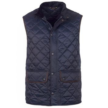 Tantallon Quilted Gilet in Navy by Barbour - FINAL SALE