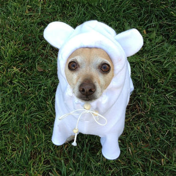 Polar Bear Dog Costume Pet Costume ALL SIZES AVAILABLE