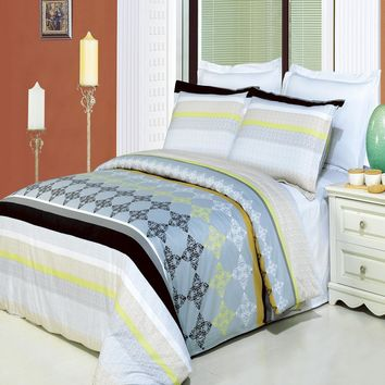 South Gate Printed Multi-Piece Duvet Set
