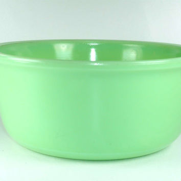 Vintage Jadeite Mixing Bowl Large Star Rite Magic Maid Model B