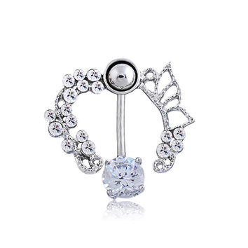 Hollow Out Belly Ring [6768827911]