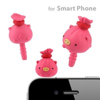 Kincha Kun Earphone Jack Accessory (Pig)