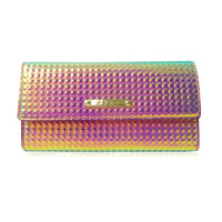 The Harlesden Purse by LYDC in Pink Holographic