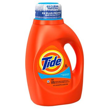 Tide® Clean Breeze® Liquid Laundry Detergent - 50 oz : Target