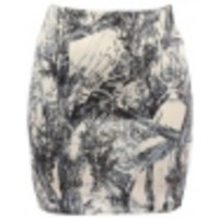The Print Bodycon Skirt