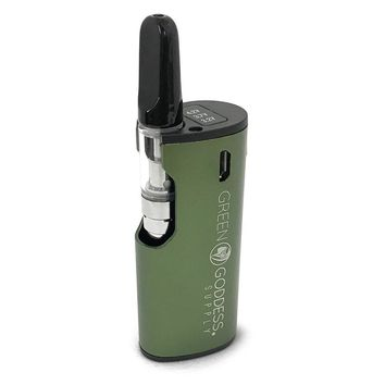 MiniVape 2 - Compact, Discreet, State-of-the-Art Oil Vaporizer (Green)